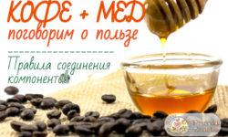Кофе с медом: польза и рецепты приготовления
