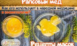 Рапсовый мед и его полезные свойства